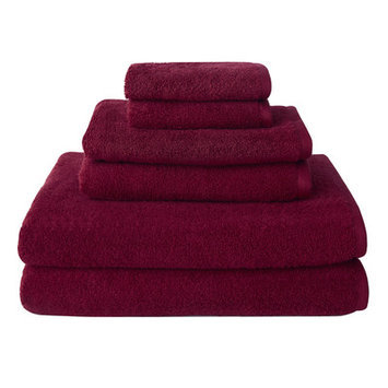 Wayfair Basics 6-Piece Towel Set Color: Purple