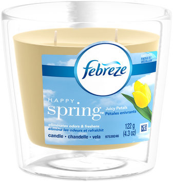 Candle Febreze Candle Happy Spring Air Freshener (1 Count, )