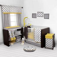 Harriet Bee Bair Dots/Pin 9 Piece Crib Bedding Set