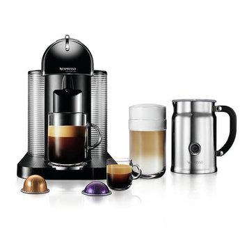 Nespresso VertuoLine Coffee & Espresso Maker with Aeroccino Milk Frother