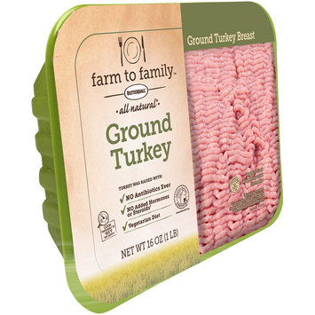 Butterball® Farm to Family™ All Natural Ground Turkey Breast 16 oz. Pack