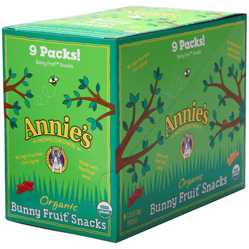 Annie's™ Organic Berry Patch Bunny Fruit Snacks 9-2.75 oz. Bags