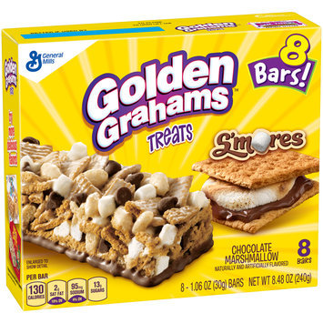 Golden Grahams™ S'mores Chocolate Marshmallow Treat Bars 8-1.06 oz. Bars