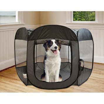 Precioustails Pop Open Collapsible Travel Pet Pen Size: 28