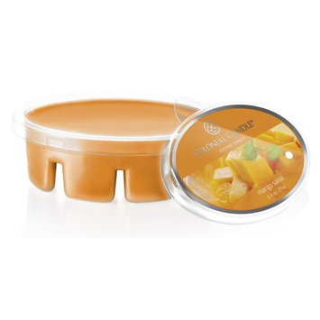 Colonial Candle Simmer Snap Wax Melt Mango Salsa Scent Candle