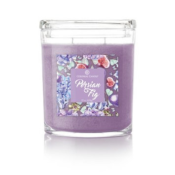 Colonial Candle CC022.5405 22 oz Oval Jar Candle Persian Fig Pack of 2