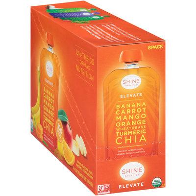Shine Organics™ Elevate Fruit & Vegetable Blend 8-4.22 oz. Pouches