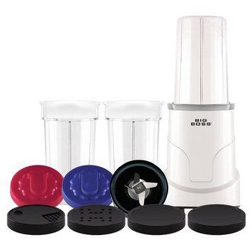 Big Boss 15-Piece Healthy Boss 900-watt Power Blender/ Mixer, Silver