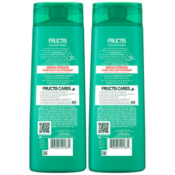 Garnier® Fructis® Grow Strong Shampoo 2-12.5 fl. oz. Bottles