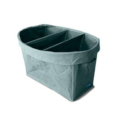 Skysky Nursery Fabric Basket Color: Gray