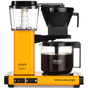 Technivorm Moccamaster KBG-741 Coffee Brewer - Yellow Pepper