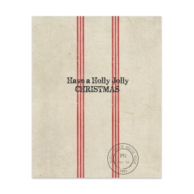The Holiday Aisle 'Holly Jolly Christmas' Textual Art Size: 10