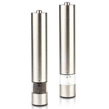 Gourmet Electric Salt & Pepper Grinder Set