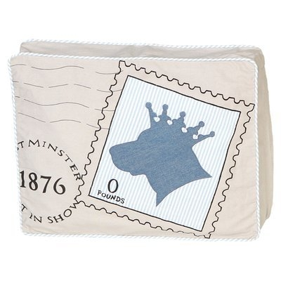 Unleashed Life Royal Post Pet Pillow Size: Small (16