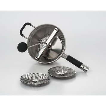 Cook Pro Stainless Steel Food Mill with 3 Blades