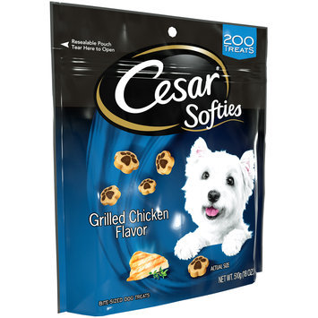 Cesar® Softies Grilled Chicken Flavor Dog Treats 18 oz. Pouch