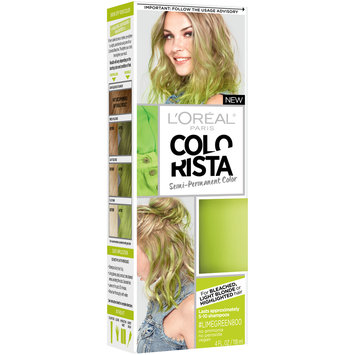L'Oreal® Paris Colorista Semi-Permanent Color #LimeGreen800 4 fl. oz. Box