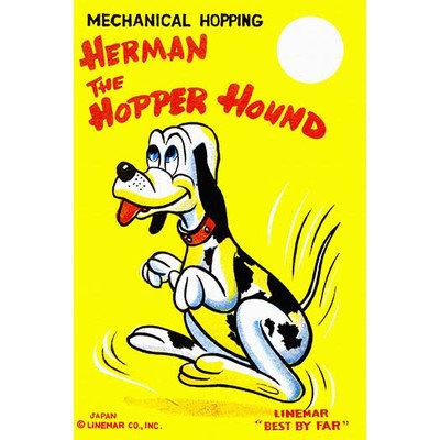 Buyenlarge 'Herman the Hopper Hound' Wall Art Size: 66