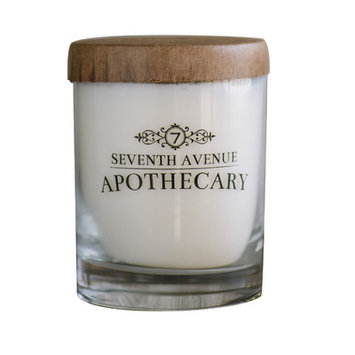 Seventh Avenue Apothecary Hand-poured Artisan Winter Pine and Snow Soy Candle