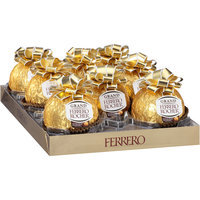 Grand Ferrero Rocher® Milk Chocolate and Hazelnut Ornament 4.4 oz. Package