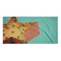 Kavka Star Sign Beach Towel