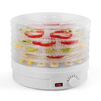 Westinghouse Electric 5 Tray Food Jerky Fruit 245 Watt Dehydrator Dryer, White