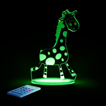 Lumenico Aloka Starlights LED Giraffe Night Light with Remote Control