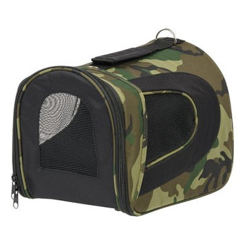 Iris Small Soft Pet Carrier Color: Camo, Size: 10.63