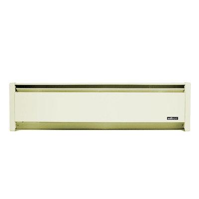 Cadet 1250W Softheat hydronic baseboard heater - White Sand RH Wire