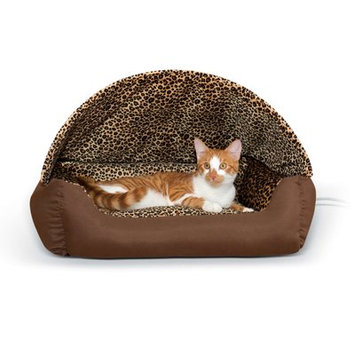 K & H Manufacturing Thermo-Hooded Pet Bed