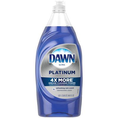 Dawn Ultra Platinum Dishwashing Liquid, Refreshing Rain, 34.6 fl oz