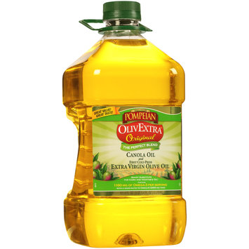 Pompeian® OlivExtra® Original Canola Oil and First Cold Press Extra Virgin Olive Oil 101.4 fl. oz. Bottle