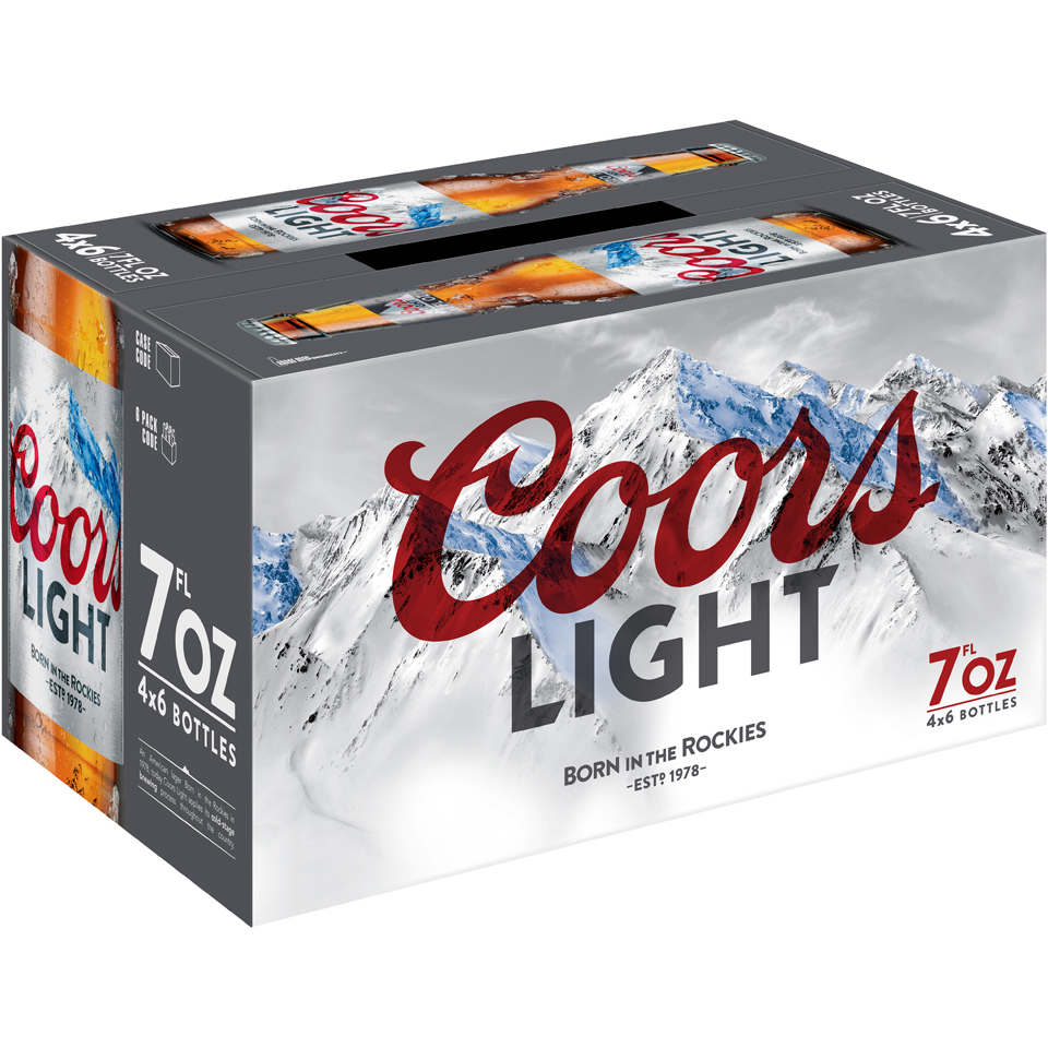 Coors Light® Beer 24-7 fl. oz. Bottles