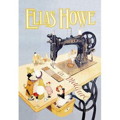 Buyenlarge Elias Howe, La Meilleure by Abel Pann Vintage Advertisement Size: 66