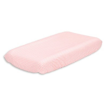 The Peanut Shell Dot Cotton Changing Pad Cover