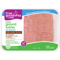 True Goodness® by Meijer® Lean Ground Turkey 16 oz. Pack