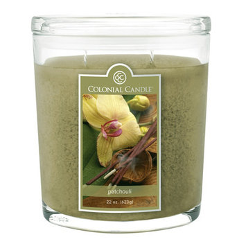 Colonial Candle Patchouli Scent Jar Candle