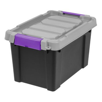 Iris Store-It-All Plastic Storage Tote