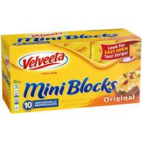 Velveeta Mini Blocks Original Cheese 10 ct Box