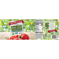 Muir Glen™ Organic Diced No Salt Added Tomatoes 28 oz. Can