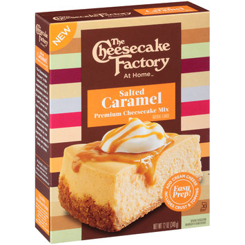 The Cheese Cake Factory At Home™ Salted Caramel Premium Cheesecake Mix 12 oz. Box