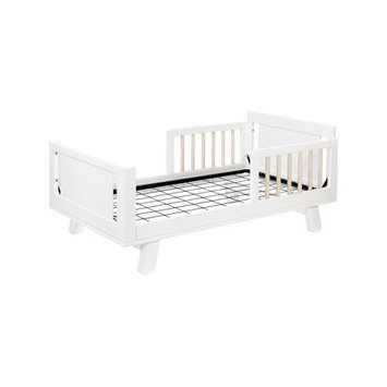 Babyletto Junior Full Bed Rails Finish: White/Natural