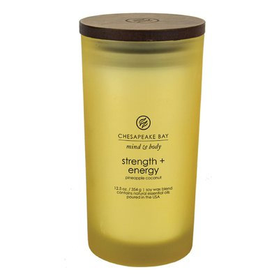 Chesapeake Bay Candles Mind & Body Strength and Energy Jar Candle Size: Large