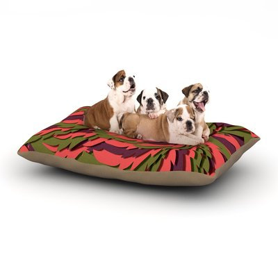 East Urban Home Akwaflorell 'Wings III' Dog Pillow with Fleece Cozy Top Size: Small (40