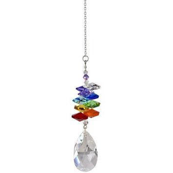 House Of Hampton Firmin Crystal Ice Cascade Almond Color: Rainbow