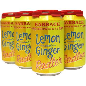 Lemon and Ginger Radler
