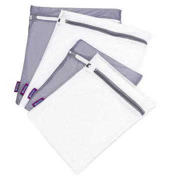 Kennedy International Inc Woolite Ultimate Wash Bag Set, 2 White and 2 Grey