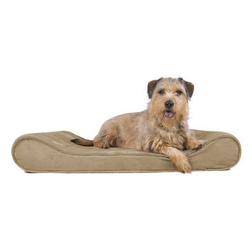 Furhaven Microvelvet Luxe Orthopedic Dog Bed Size: Large (36