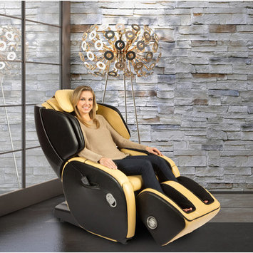 Human Touch AcuTouch 6.0 Reclining Massage Chair Color: Butter