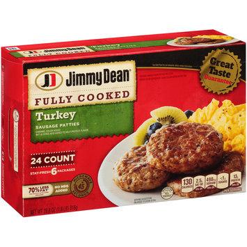 Jimmy Dean® Turkey Sausage Patties 28.8 oz. Box
